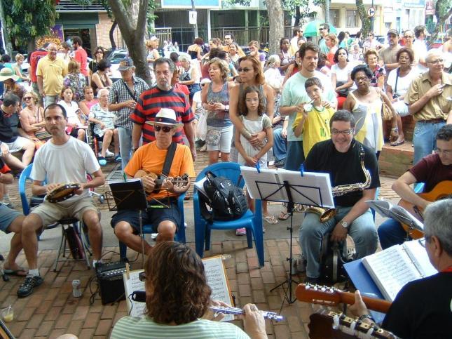 Choro na Praça São Salvador